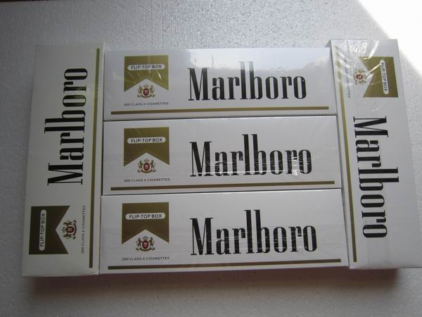 Marlboro Cigarettes Types Gold Regular 10 Cartons