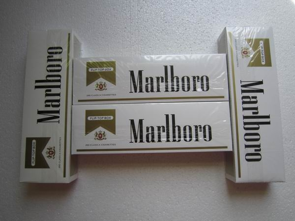 Marlboro Gold Regular Cigarettes with FL Stamp 240 Cartons