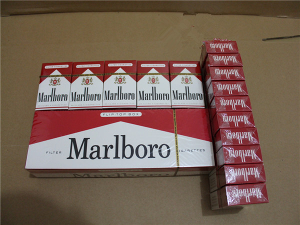 Marlboro Red Regular Cigarettes with NJ Stamp 20 Cartons